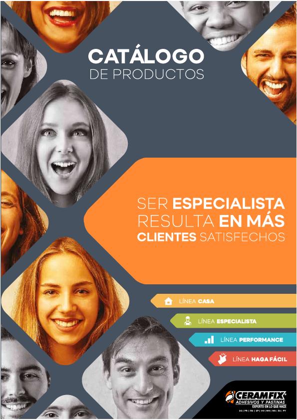 Catálogo de Produto - Espanhol Ceramfix 2018