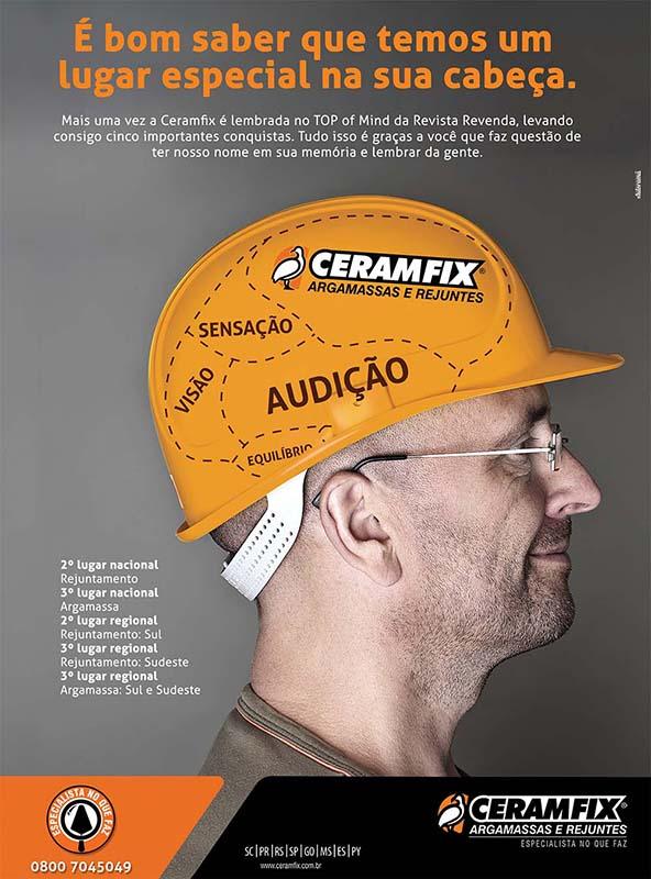 Ceramfix Top of Mind 2016 do Grupo Revenda
