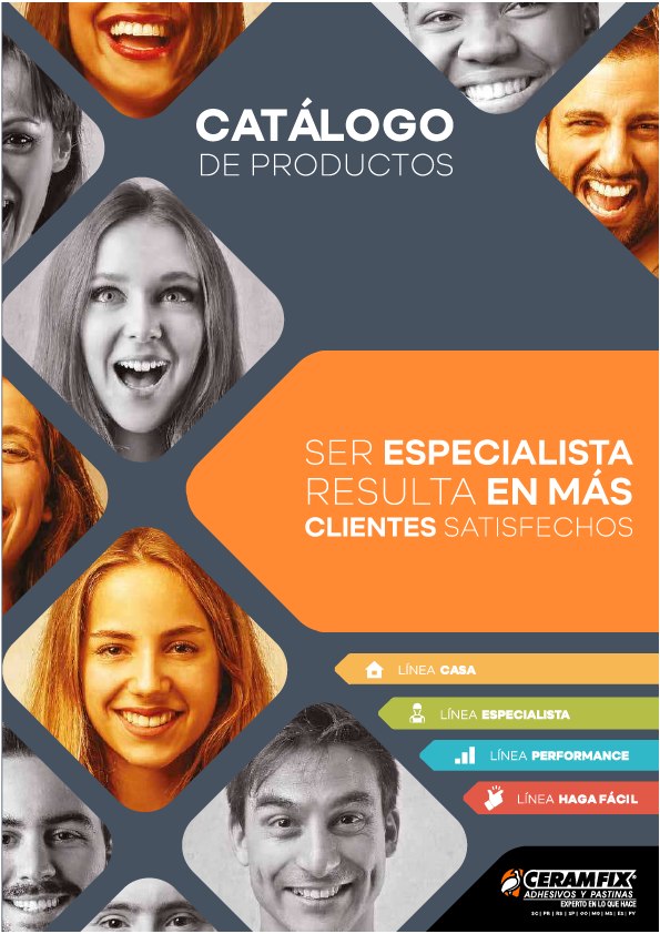 PRODUCT CATALOG - SPANISH