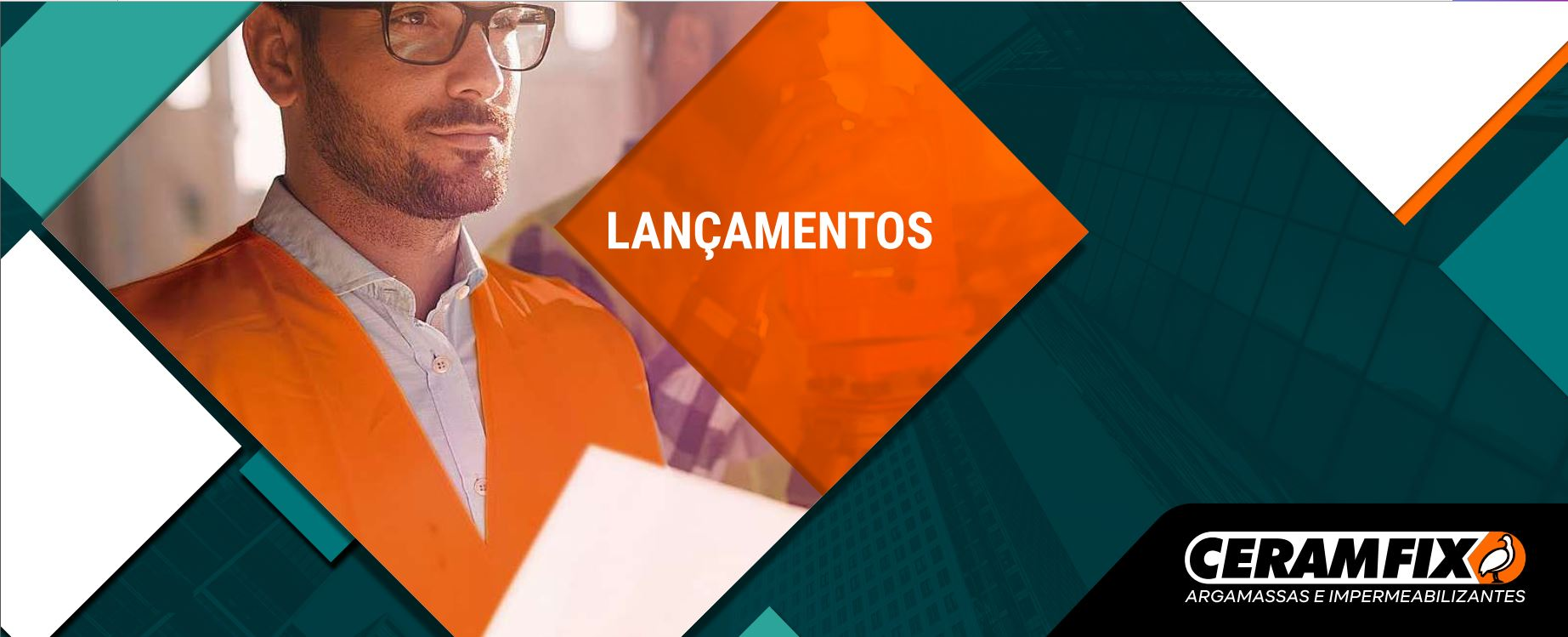 Folder DE LANÇAMENTOS