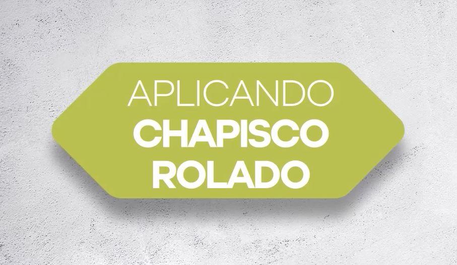 APLICACIÓN DE PASO A PASO DE CHAPISCO ROLADO CERAMFIX