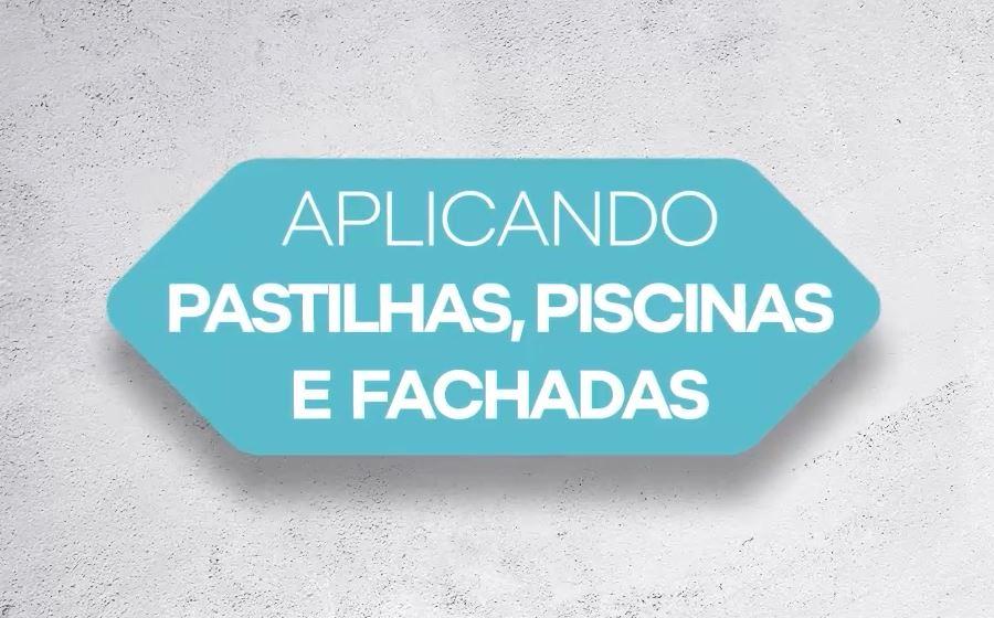 APLICACIÓN DE PASO A PASO DE PASTILHAS, PISCINAS E FACHADAS (PT)