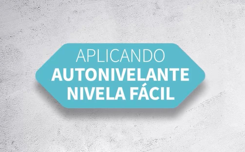 APLICACIÓN DE PASO A PASO DE AUTONIVELANTE NIVELA FÁCIL (PT)