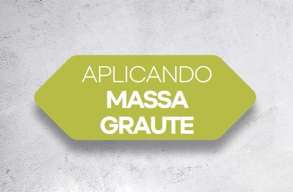APLICACIÓN DE PASO A PASO DE MASSA GRAUTE 50 (PT)